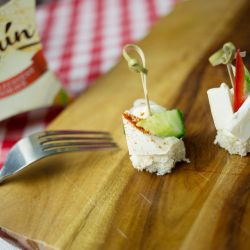 Jednohubky se sýrem Olmín - recept