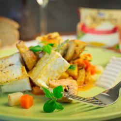 Špíz s žampióny a sýrem Olmín - recept