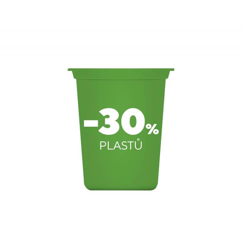 Snižujeme obsah plastů v kelímcích
