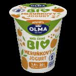 Bio jogurt Meruňka