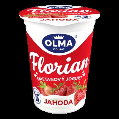 Florian smetanový Jahoda