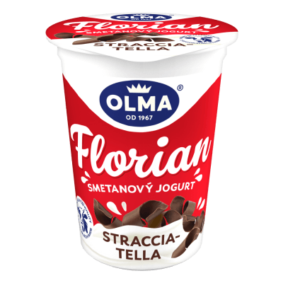Florian smetanový Stracciatella